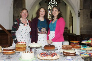 Cake Saturday at Magor Church, wonderful home made cakes on the first Saturday of the month