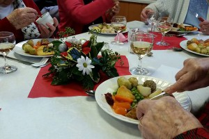 Magor Ministry Area Munchies Lunch Club for Senior Citizens